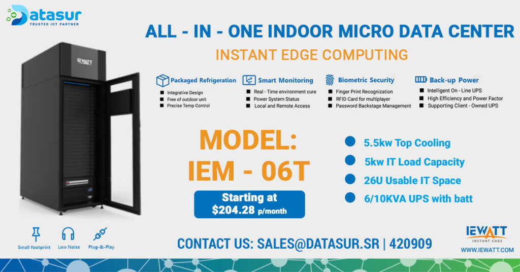 Datasur-All-In-One-Micro-Data-Center-Model-IEM---06T