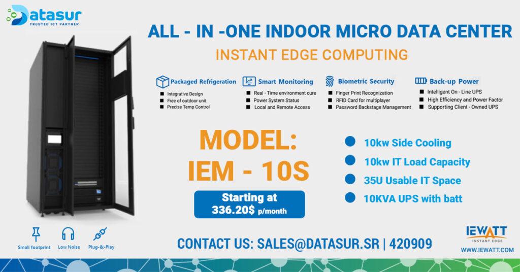 Datasur-All-In-One-Micro-Data-Center-Model-IEM---10S